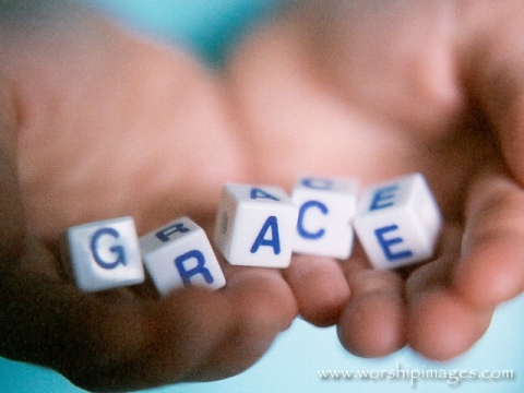 grace is in god's hands
